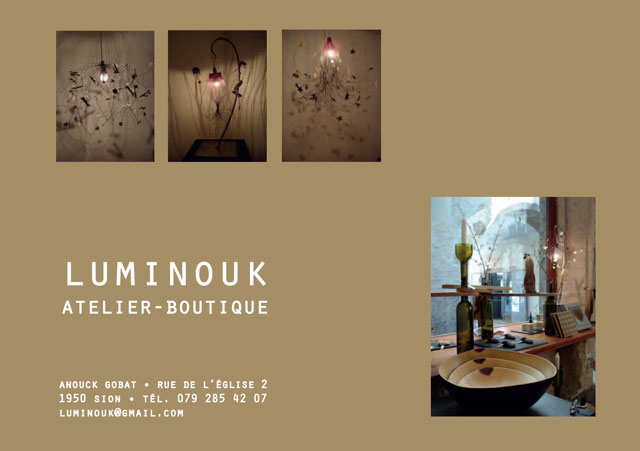 Luminouk - Atelier boutique - Sion